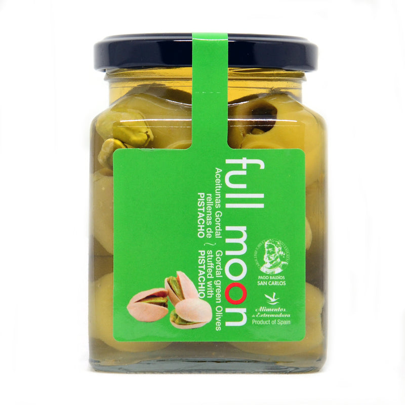 Full Moon Gordal Olives Stuffed With Pistachio