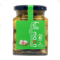 Full Moon Manzanilla Olives With Garlic and Rosemary