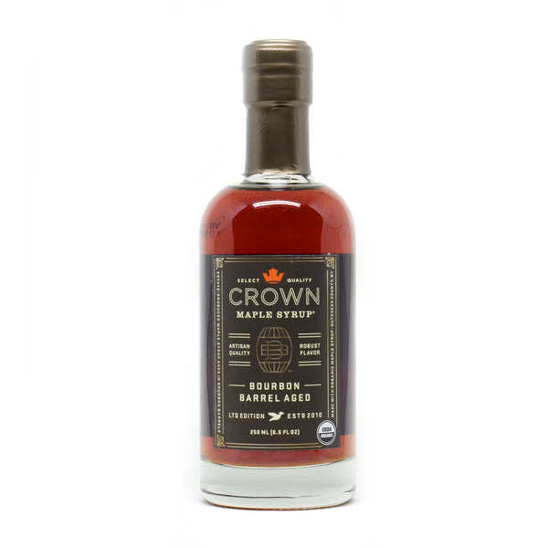 Crown Maple Bourbon Barrel Aged Maple Syrup