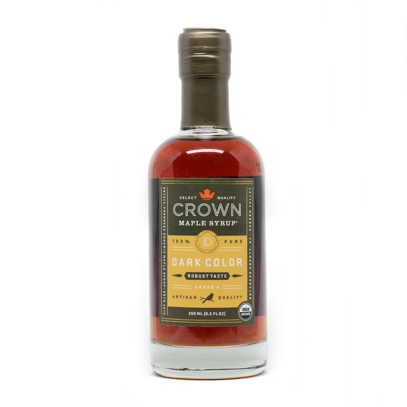 Crown Maple Dark Colour and Robust Taste Maple Syrup