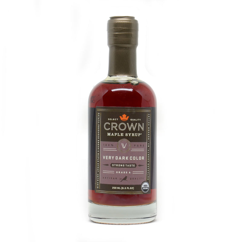 Crown Maple Very Dark Colour and Strong Taste Maple Syrup