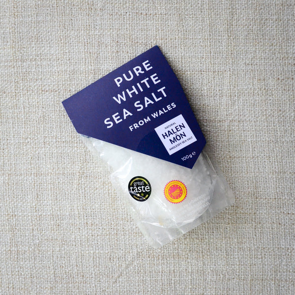 Halen Môn Pure White Sea Salt 100g