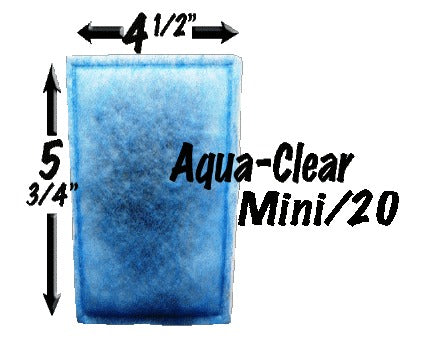 AquaClear 20 and Mini - Monthly Subscription Plan