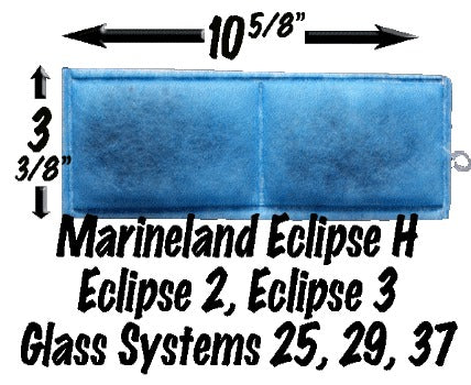 Marineland Eclipse H, 2, 3, Glass Systems 25, 29, 37 - Monthly Subscription Plan