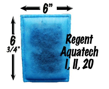 Regent Aqua-Tech I, II, 20 - Monthly Subscription Plan