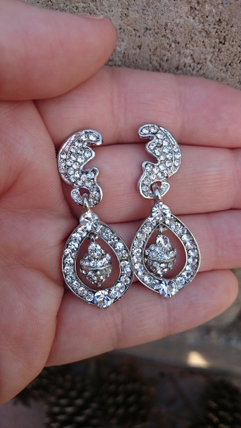 Kate Middleton Inspired CZ earrings,Royal Wedding cubic zirconia earrings, wedding jewelry, bridal jewelry, bridal earrings, Duchess