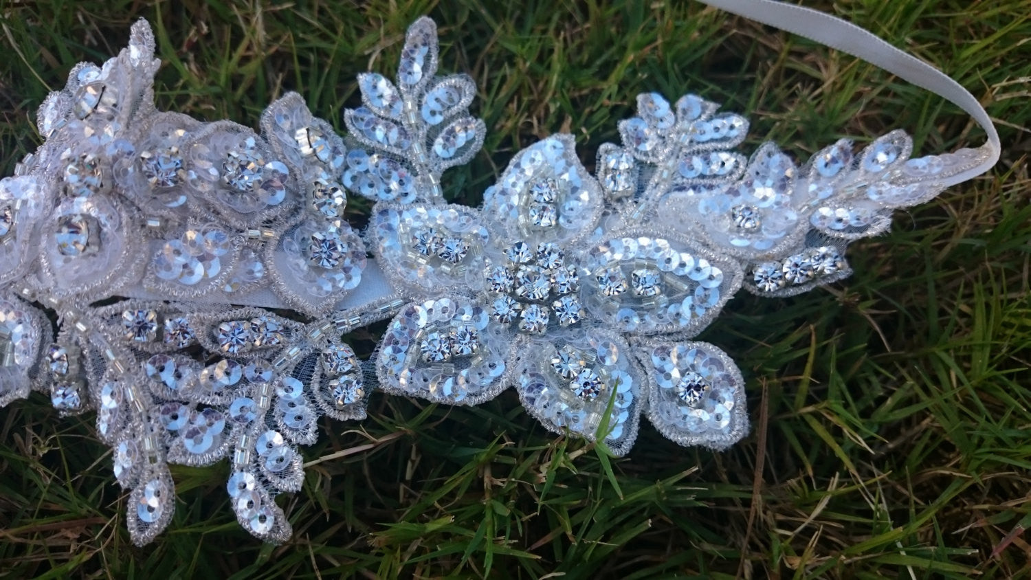 Swarovski Crystal Lace Couture Bridal Headband