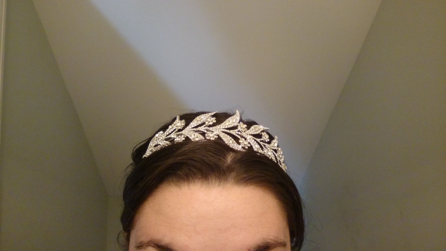 Downton Abbey Lady Mary Wedding Tiara with Swarovski Crystals