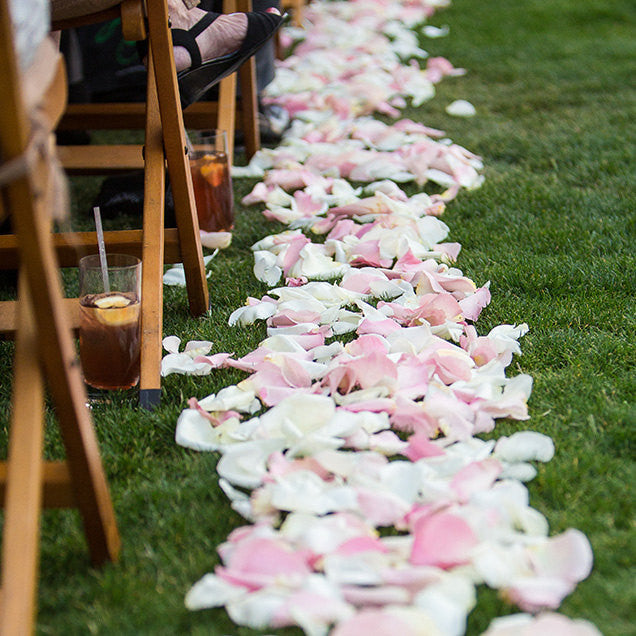 5,000 Silk Faux Flower Petals in BULK Choose Color Fabric Rose Petals to Decorate Aisle or Table for a wedding