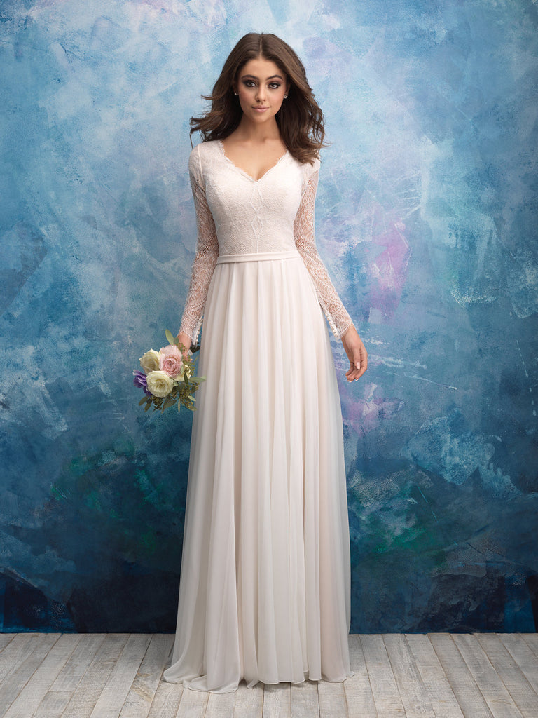 Size 2 Allure Bridals Modest Collection