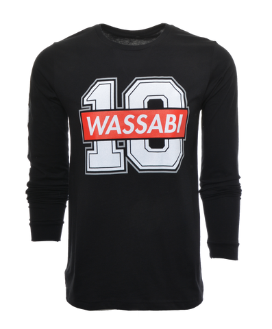 Wassabi 10M Subs Limited Edition Long Sleeve Shirt - Black