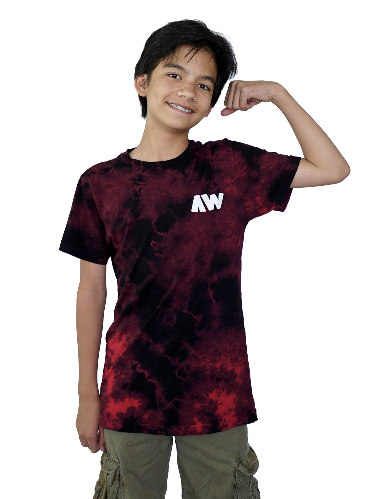 Wassabi AW Lightning Shirts - Red/Black