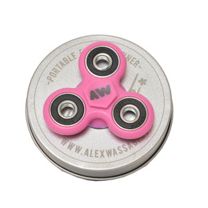 pink spinner
