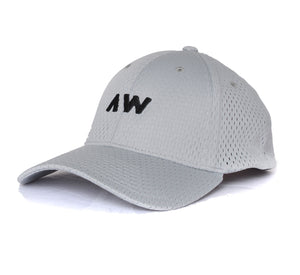 Wassabi AW Mesh Flex Hat - Grey/Black