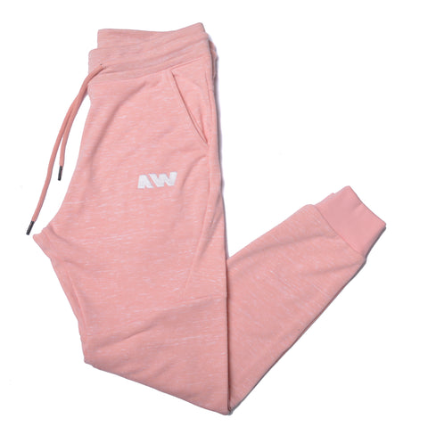 Wassabi Cotton Tech Sweatpants - Salmon