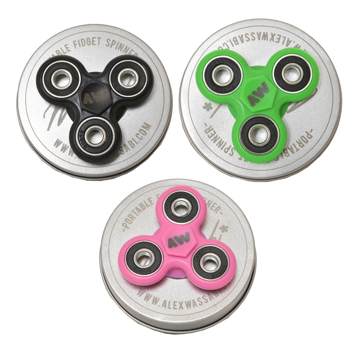 Fidget spinner package