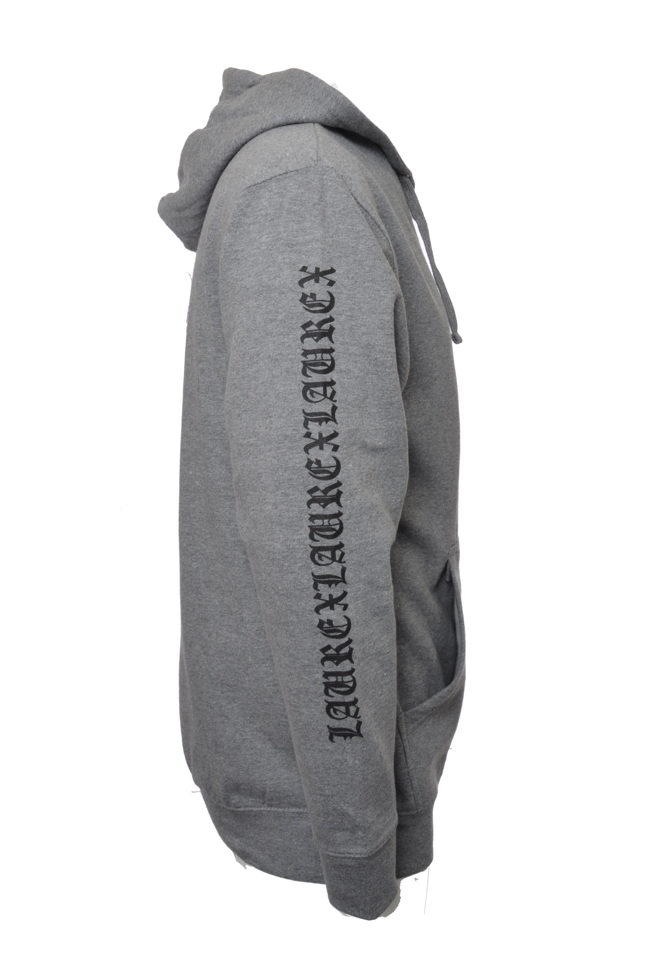 Laurex Laurex Laurex FIRST VERSION Pullover Hoodie - Grey 1.0
