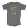 """5457"" Drop Tail Men's Tee"