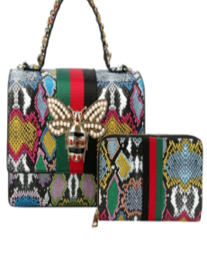 Bee & Bling Handbag - Multicolor