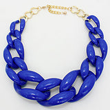 Mad About Blue Chunky Links