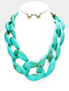 Mad About Turquoise Chunky Links