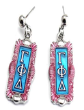 Gamma Phi Delta Statement Earrings