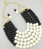Fancy Me Pearls - Black