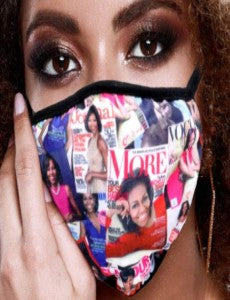 Becoming Washable Face Mask - Magazine Cover