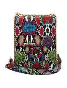 Snake Me Crossbody Bag - Multicolor