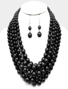 Madame Pearls - Black
