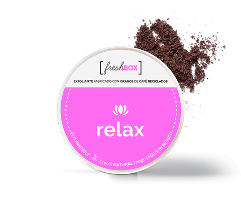 Relax Coffee Scrub Mini