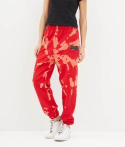 Red Bleach Pants
