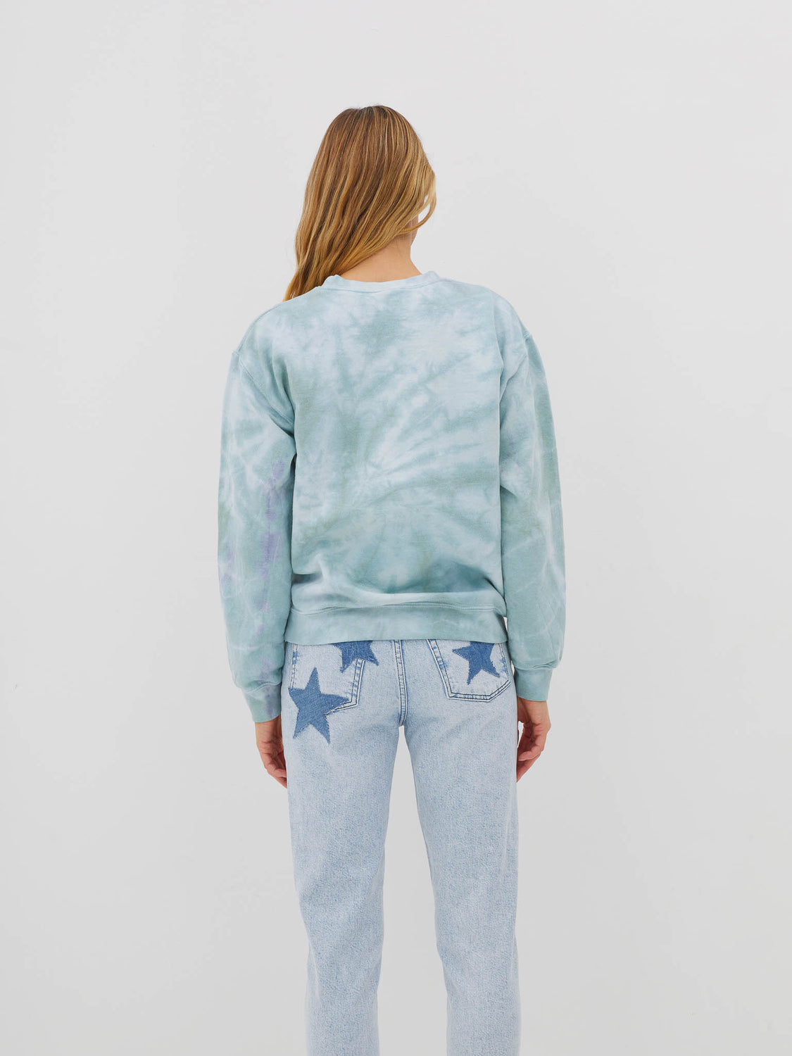 Green Dye Sweatshirt