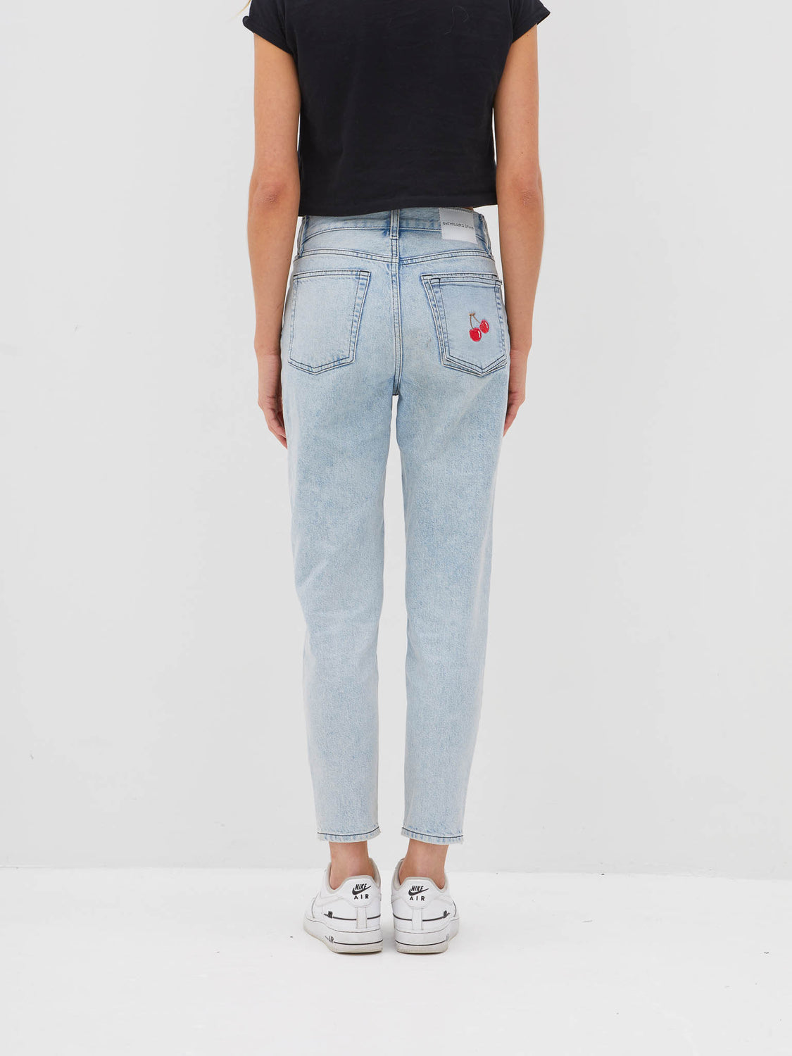Cherry Pocket Jean