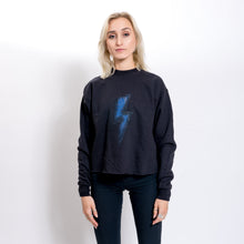 Black Lightning Bolt Sweatshirt