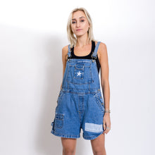 Denim Patch Overalls