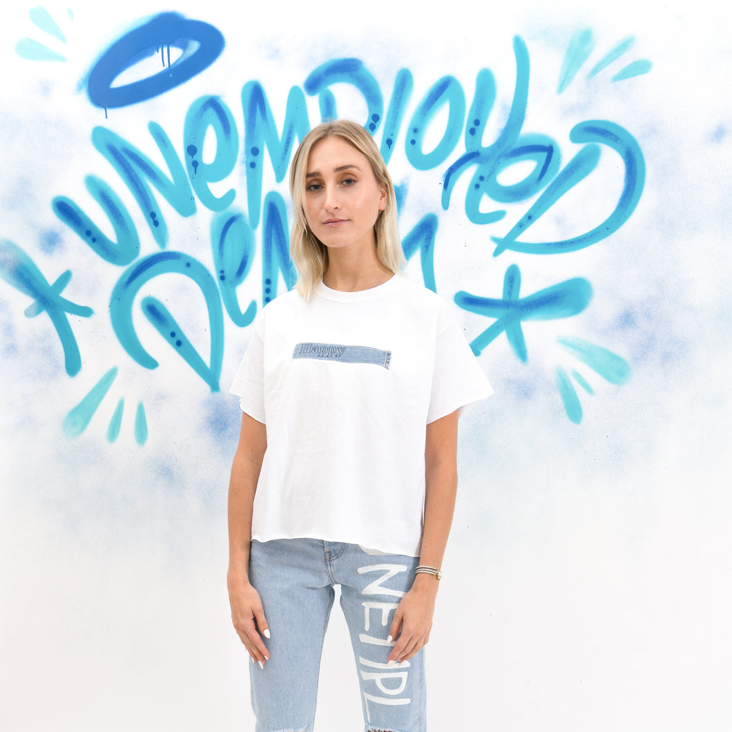 Happy Denim T-shirt