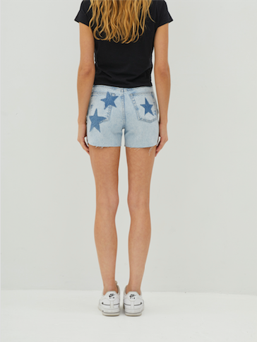 Star Denim Short