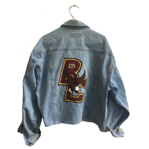 Painted College Jacket