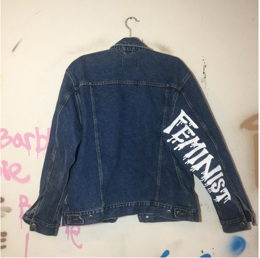 Painted Name Jacket