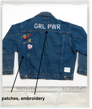 Unemployed Denim Dark Wash Jacket