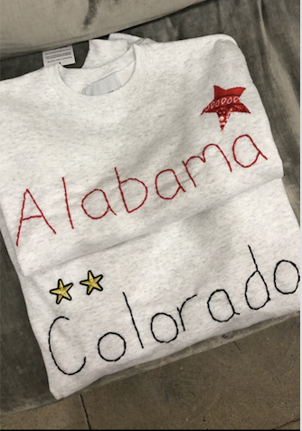 Custom College Sweatshirt