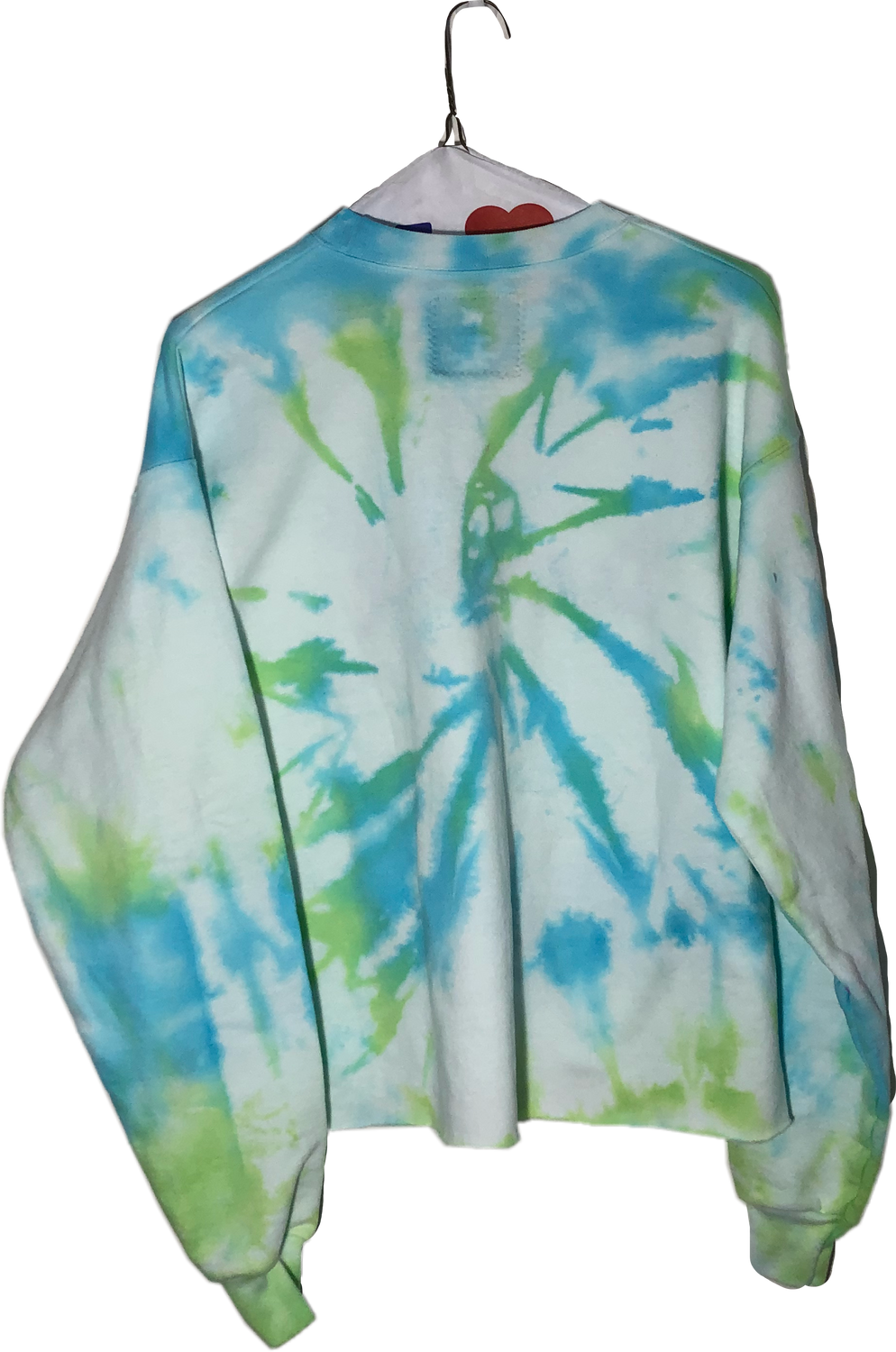 Custom Tie Dye Embroidered Sweatshirt