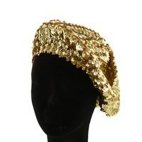 FRENCH BERET WITH SEQUIN - R&M BOUTIQUE