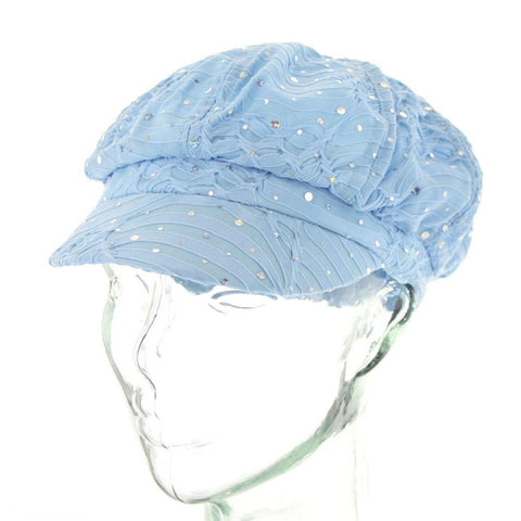 Glitter Sparkle Newsboy Hat - R&M BOUTIQUE