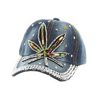Multi Color Stones Fashion Baseball Cap - R&M BOUTIQUE