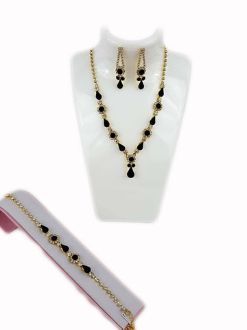 Black Rhinestone Set - R&M BOUTIQUE