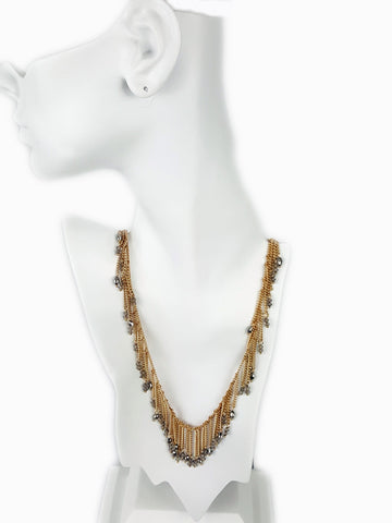 Macy's Fringe Necklace - R&M BOUTIQUE