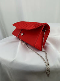 Red Evening Clutch Bag - R&M BOUTIQUE