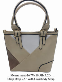 Beige Shoulder Bag - R&M BOUTIQUE